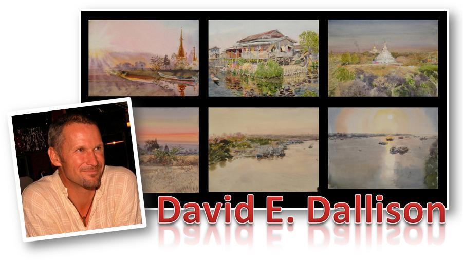 David E. Dallison at the Good Old Summertime Art Fair…