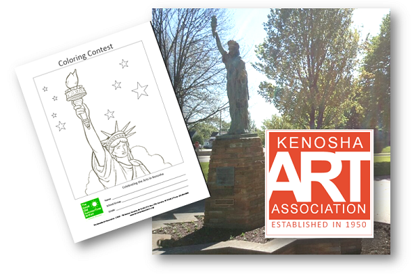 "Do you know where the ""Statue of Liberty"" is located in Kenosha?"