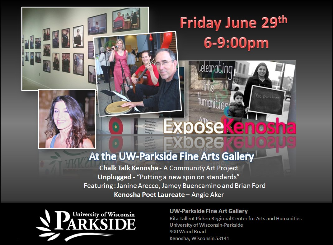 BeExposed! at the UW-Parkside Fine Art Gallery Friday, June 29, 2012…