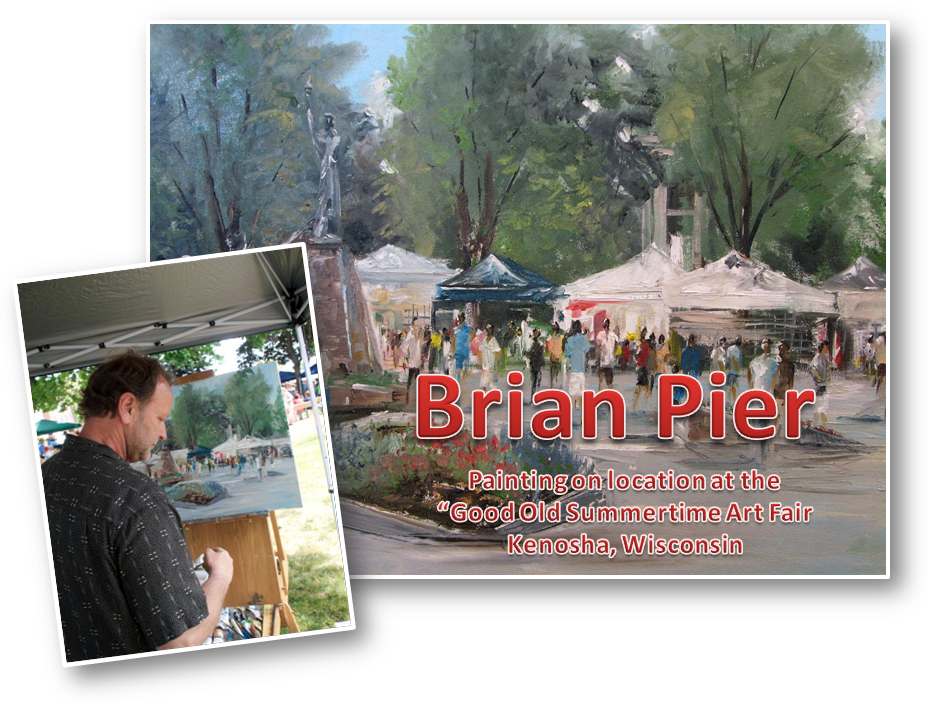 Oil Painting Workshop with Brian Pier….