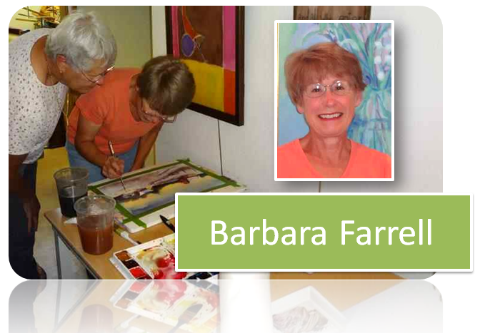 Barbara Farrell &#8211; Watercolor Artist